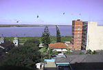Coastal town in Mozambique